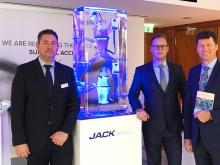 CEOs Fritz Schweinberger und Jan Holubec mit Kongresspräsident Dr. Walter Brunner